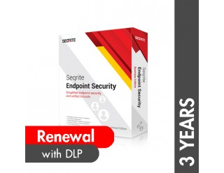 Seqrite Endpoint Security Business Edition with DLP Renewal - 3 Years