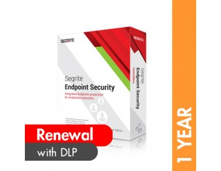 Seqrite Endpoint Security Total Edition with DLP Renewal - 1 Year